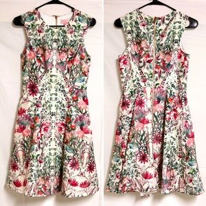 Ted Baker US 4 (1) Gaia Garden Floral Midi Dress